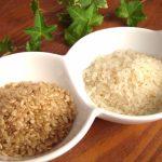 白米と玄米と健康