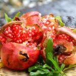 緑茶の5倍のポリフェノールを含み、子宝に恵まれる果物といられたザクロ